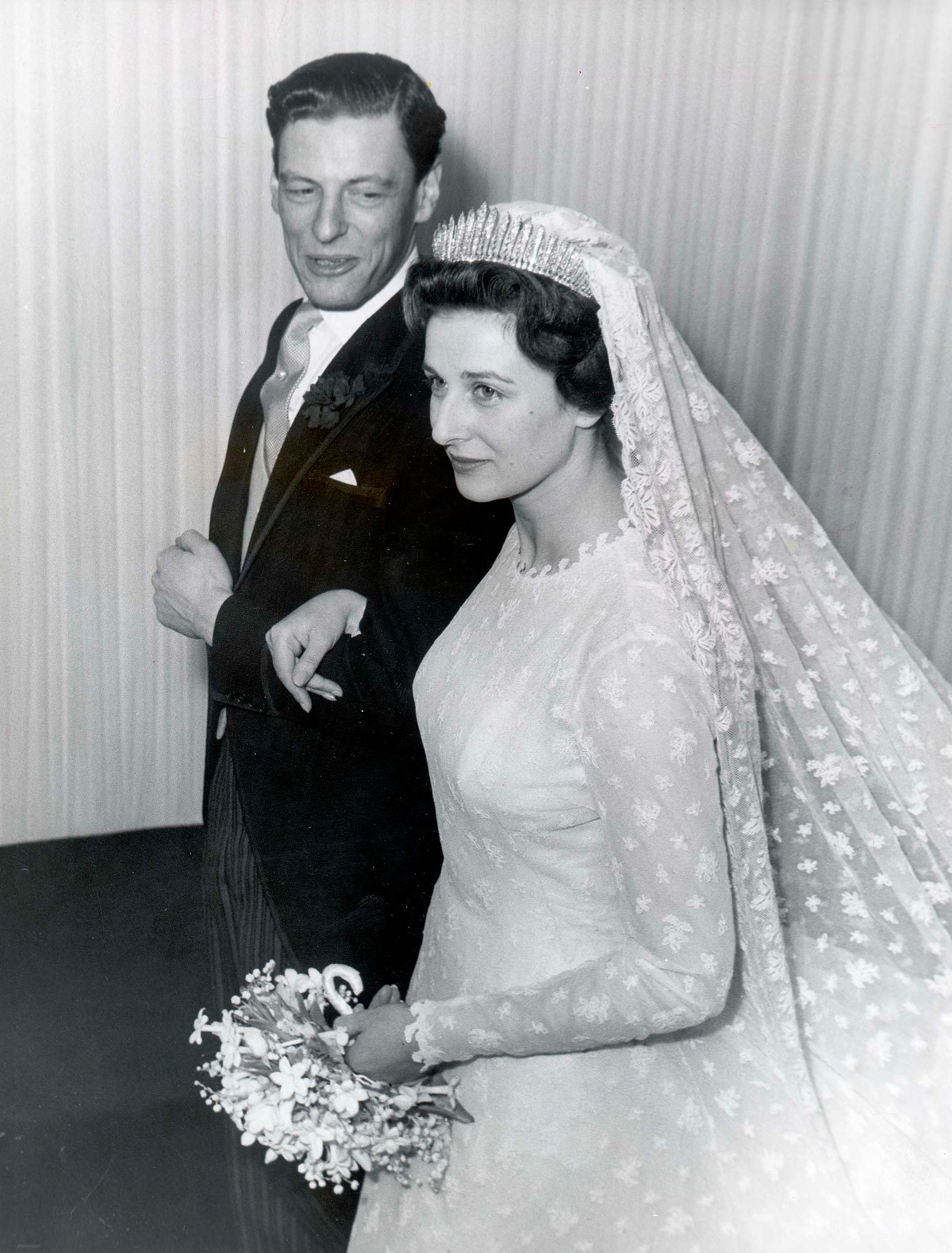Princess Alexandra and Angus Ogilvy wedding