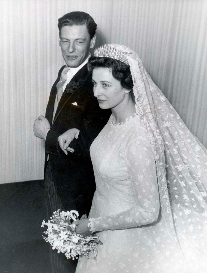 Princess Alexandra and Angus Ogilvy wedding
