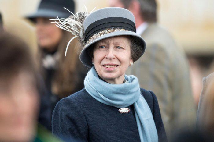 Princess Anne at the Cheltenham Festival 2018