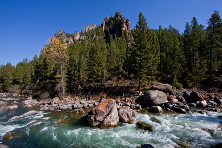 Gallatin River near Big Sky, Montana