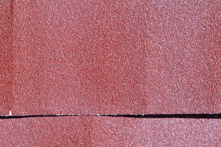 Emery paper - sandpaper. Dusty paper