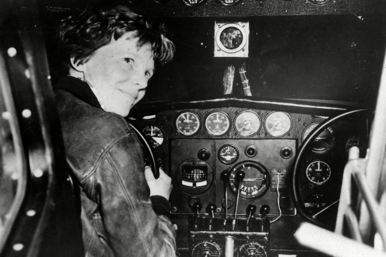 Amelia Earhart prior to last take off, Lae, Papua New Guinea - 06 Jul 2017