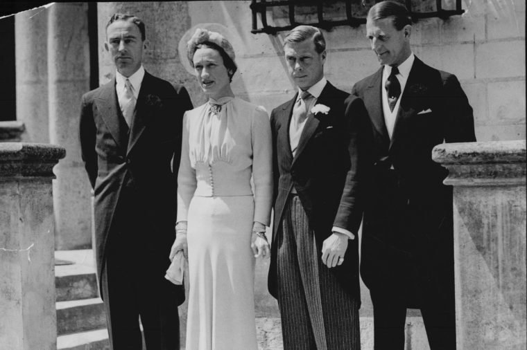 Duke Of Windsor Wedding To Wallis Simpson Now Duchess Of Windsor - 1937 Wallis Simpson Previously Wallis Spencer Later The Duchess Of Windsor (born Bessie Wallis Warfield; 19 June 1896? 24 April 1986) Was An American Socialite Whose Third Husband Prince Edward Duke Of Windsor Formerly King Edward Viii Of The United Kingdom And The Dominions Abdicated His Throne To Marry Her.