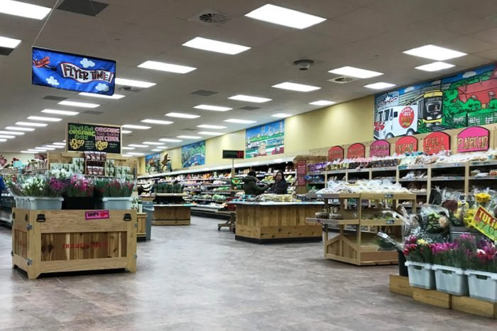 Edina, MN/USA- February 19th, 2018. The interior of a Trader Joe's grocery store in Minnesota.