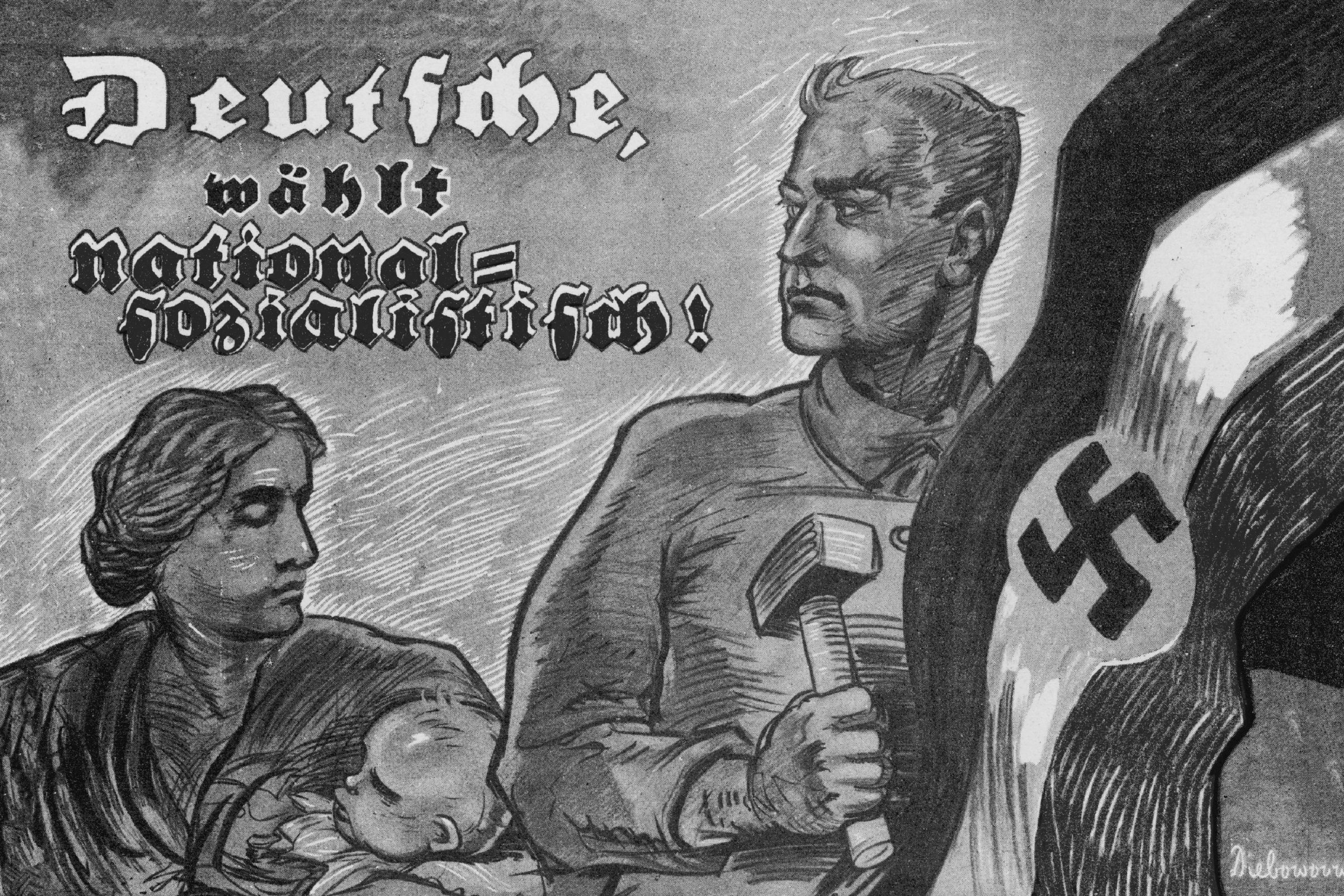 'Germany Chooses National Socialism !' - But This Confident Affirmation Was Premature by Nearly 10 Years 07-Dec-24