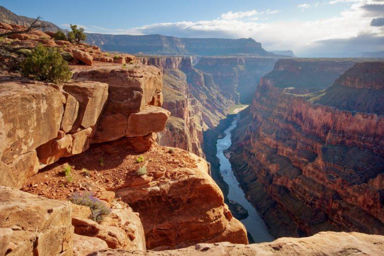 Toroweap point at sunrise, Grand Canyon National Park.