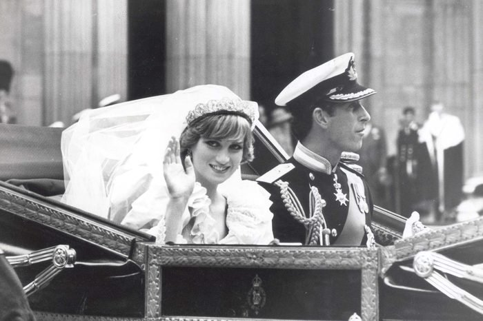 Prince Charles And Princess Diana Wedding - 29th July 1981 - Procession The Prince And Princess Diana On Their Way Back To Buckingham Palace From St. Paul's Cathedral After Their Wedding....royal Marriage/........divorced August 1996