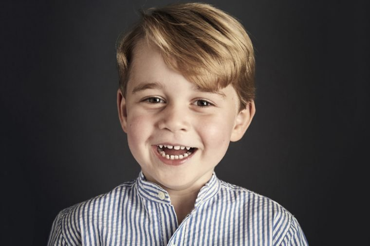 Prince George celebrates his fourth birthday, London, United Kingdom - 22 Jul 2017