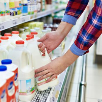 This Is What Milk Label Colors Really Mean