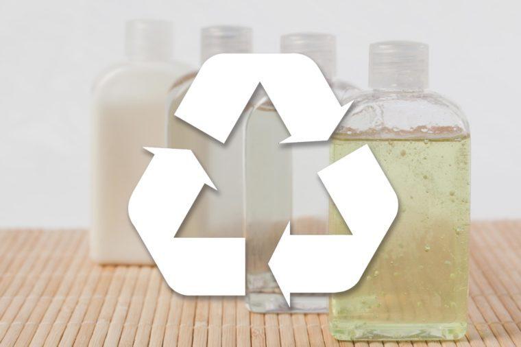 Massage oil bottles