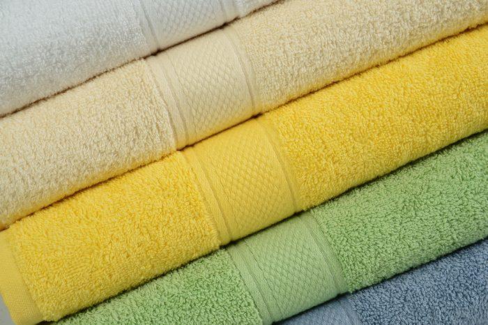 Towel stack.
