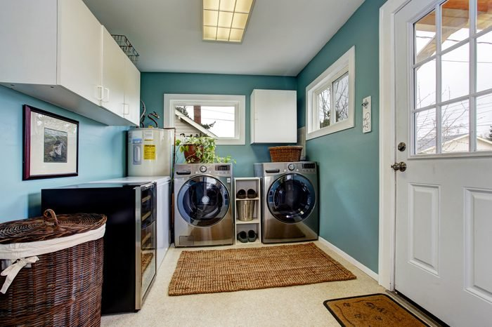 brighten up the laundry room home decor ideas