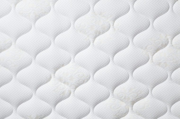 Background of comfortable mattress
