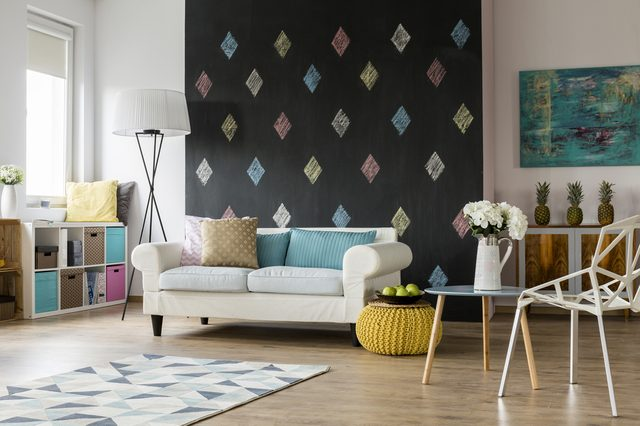 don't go overboard on color interior design tips