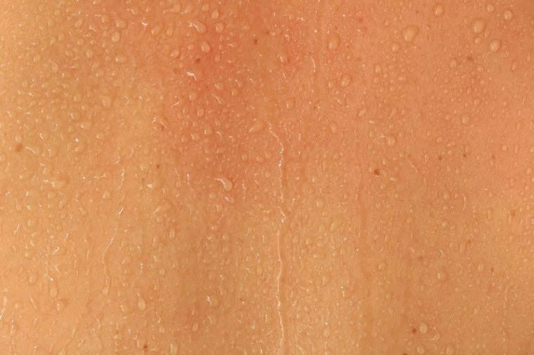 Human Skin and Sweat