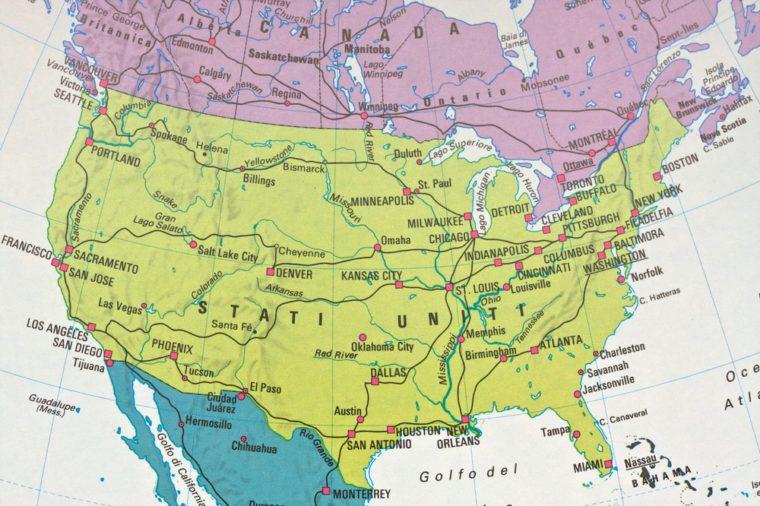 North America chart