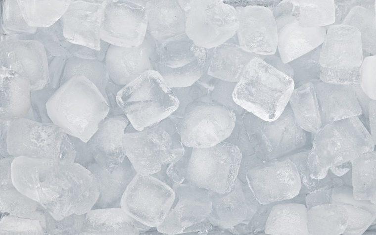 ice cubes, ice background