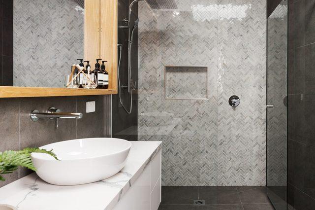 add interest to a bathroom home decor ideas