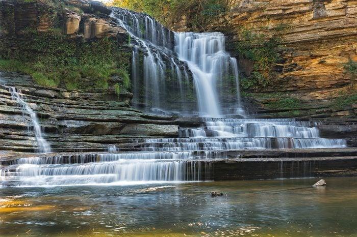 Cummins Falls At Cummins Falls State Park In Tennessee