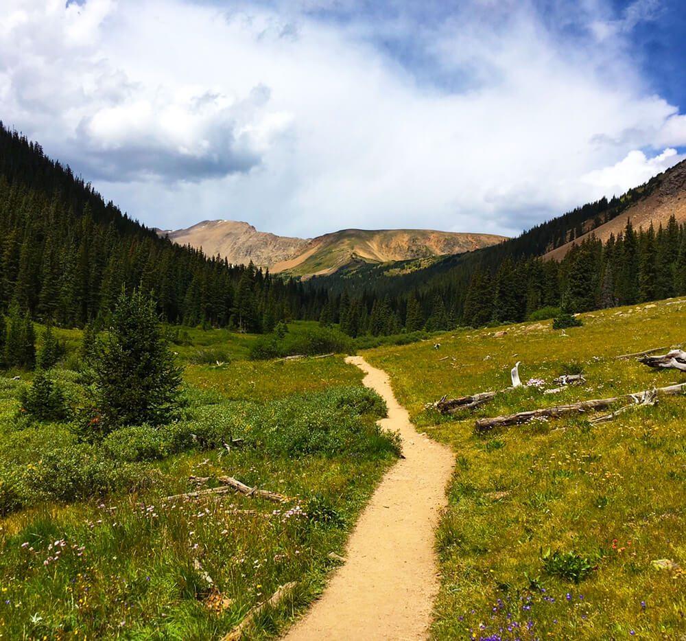Herman Gulch Trail in Dillon, Colorado.