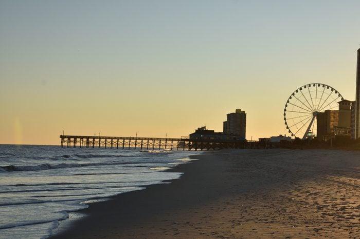 Sunset in Myrtle Beach South Carolina