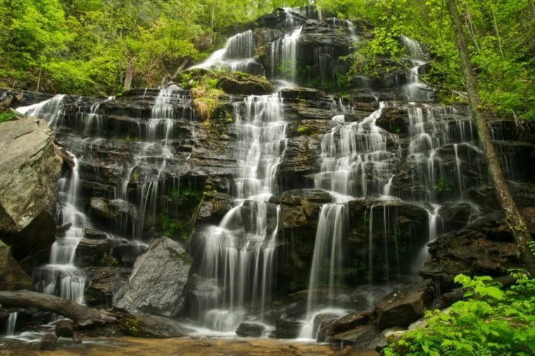 Issaqueena Falls in South Carolina