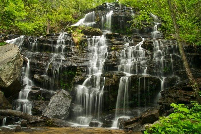 Issaqueena Falls in South Carolina