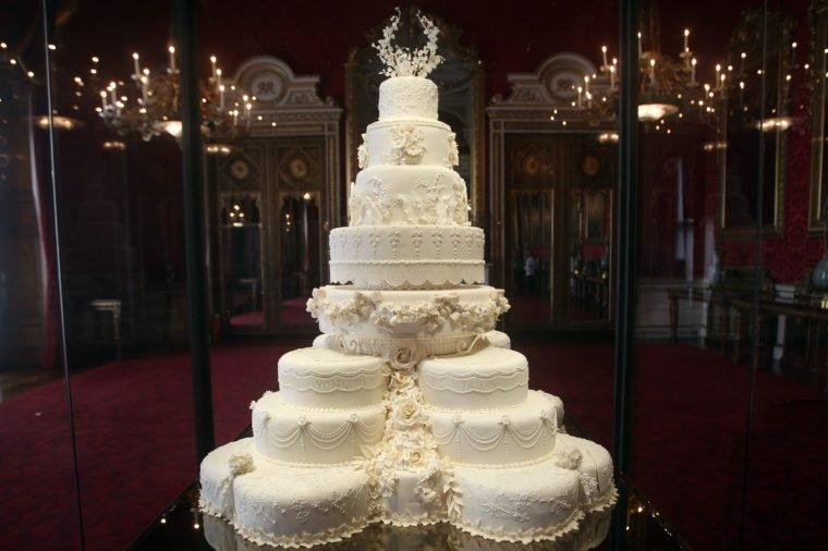 The Duke and Duchess of Cambridge's royal wedding cake