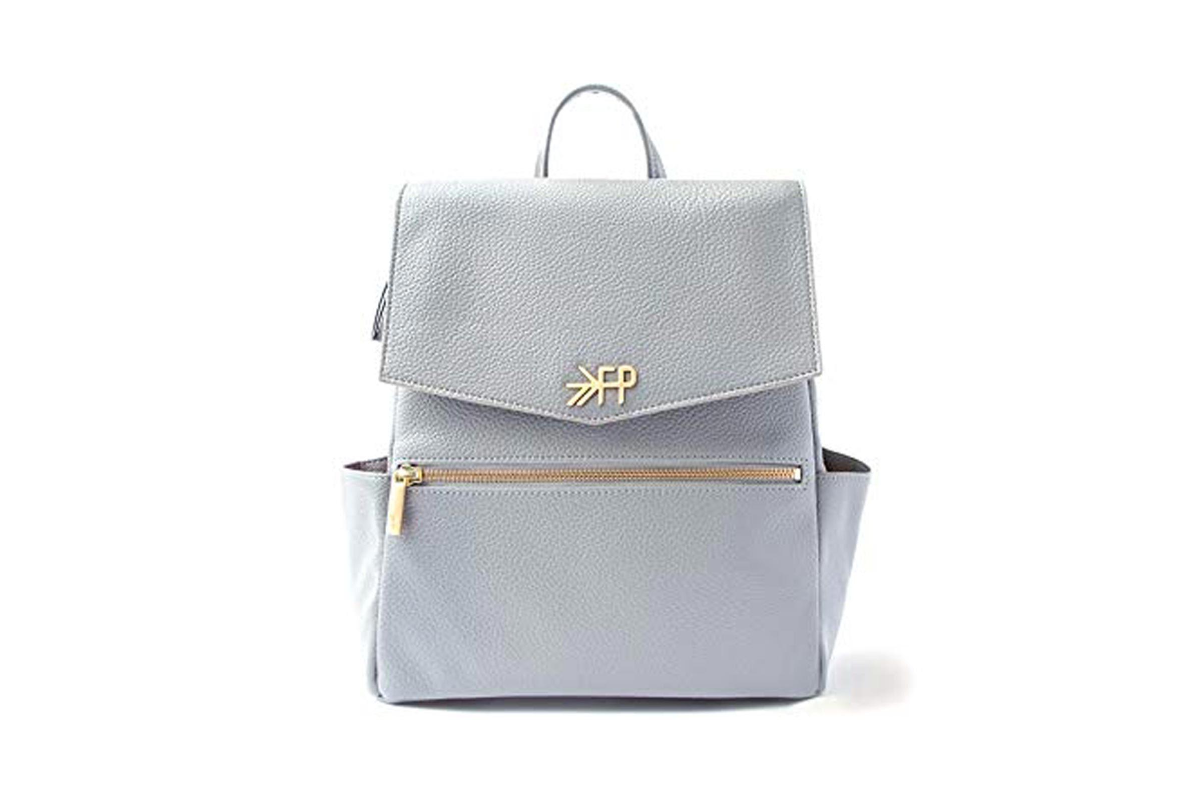 The Mini Classic Diaper Bag - Stone