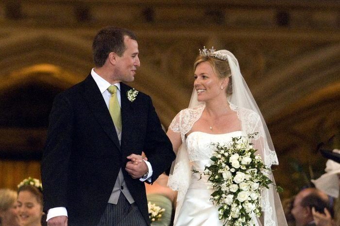 The wedding of Peter Phillips and Autumn Kelly, St George's Chapel, Windsor, Britain - 17 May 2008
