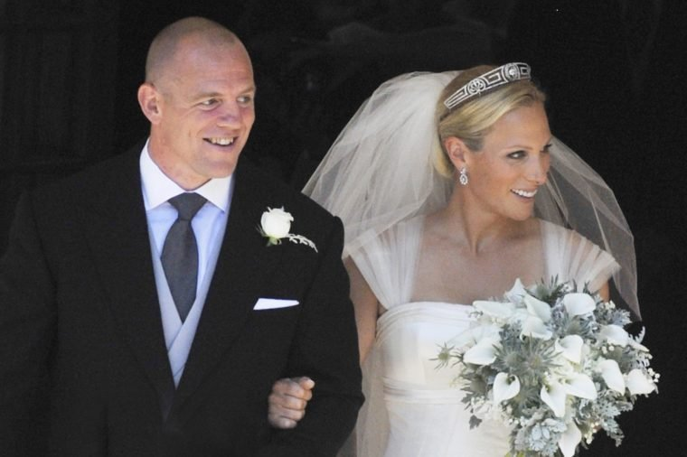 The wedding of Zara Phillips and Mike Tindall, Canongate Kirk, Edinburgh, Scotland, Britain - 30 Jul 2011