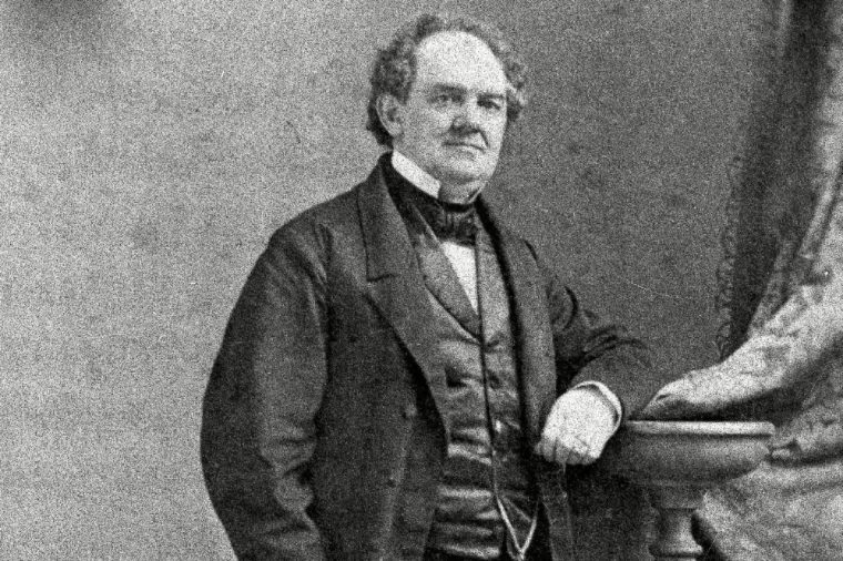 """This undated photo shows PT Barnum. A film about the life of P.T. Barnum, """"The Greatest Showman,"""" has stirred new interest at sites including Bridgeport's Barnum Museum. Circus aficionados also have found sport comparing the Hollywood version of the man as portrayed by Hugh Jackman with the historical record of the man who was also a mayor, state legislator and a philanthropist"""