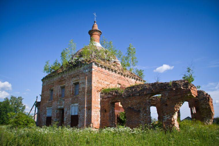 tula region_abandoned church