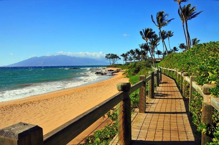 Wailea Beach Pathway, Maui Hawaii
