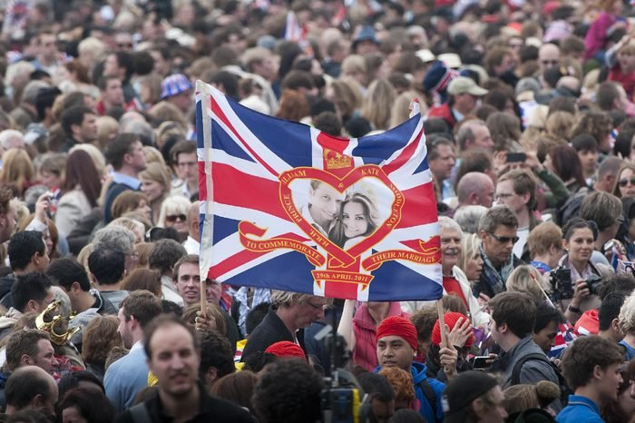 Sky News Coverage of the Royal Wedding from Buckingham Palace