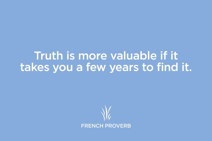 french proverb
