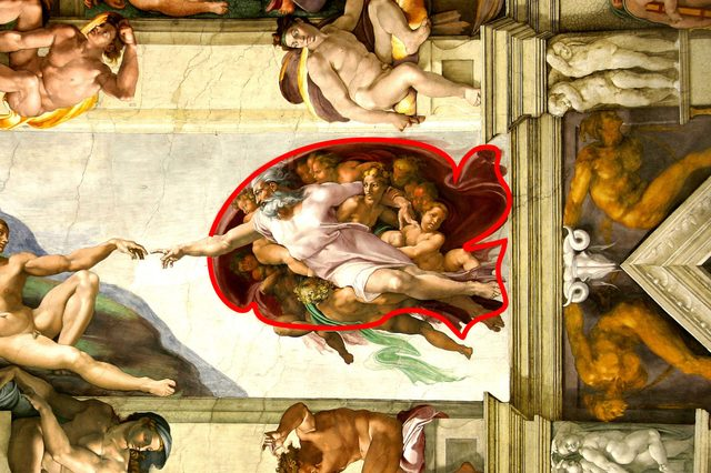 Ceiling Sistine chapel