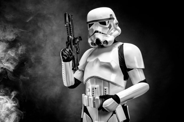 Stormtroopers are good shots