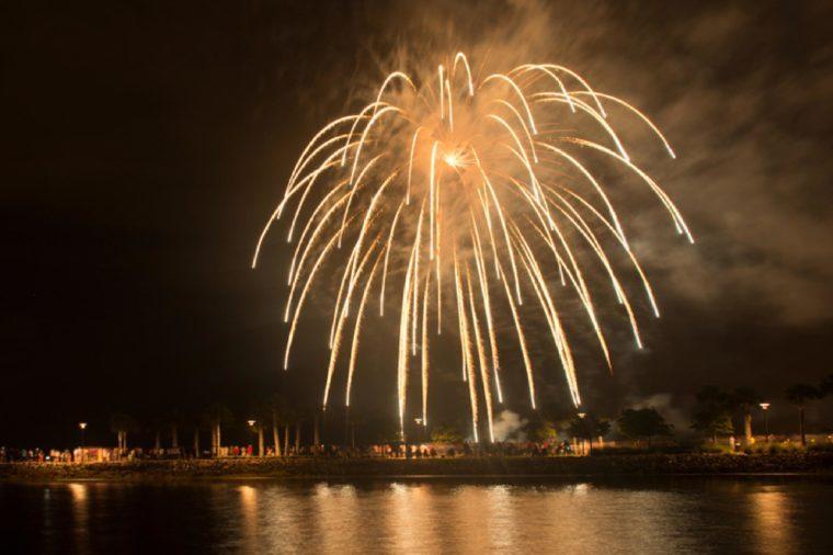 Fireworks Kissimmee Florida
