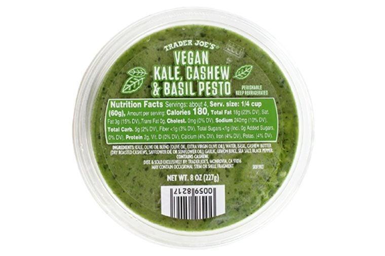 Vegan Kale, Cashew & Basil Pesto