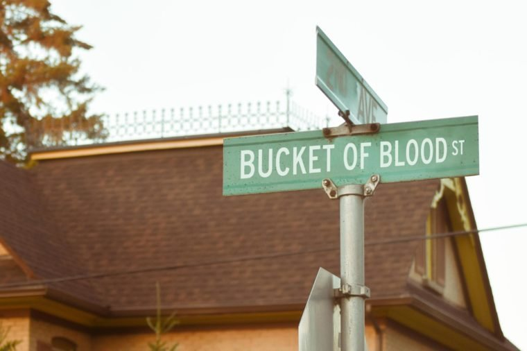 bucket of blood st