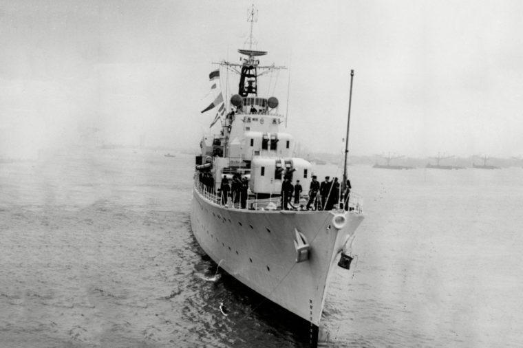 Hms Duchess Royal Navy Destroyer Ship.