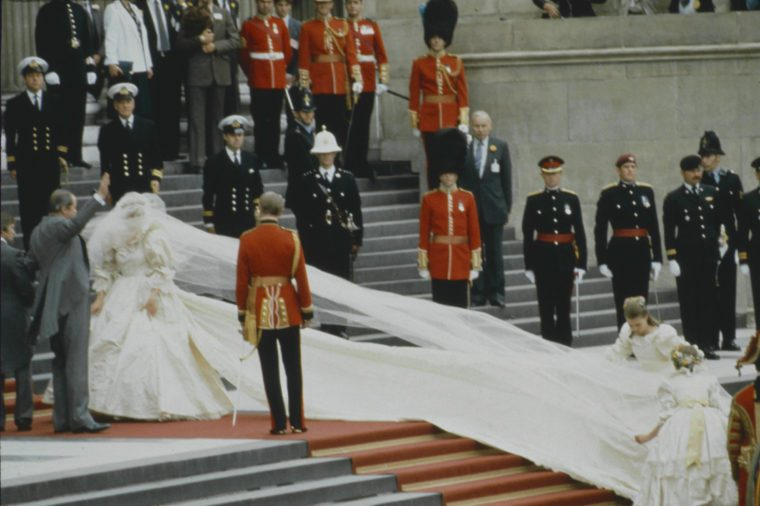 Wedding of Prince Charles and Lady Diana Spencer, London, Britain - 29 Jul 1981