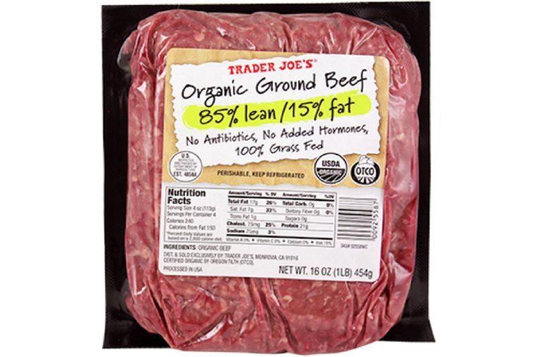 Organic Grass Fed Ground Beef