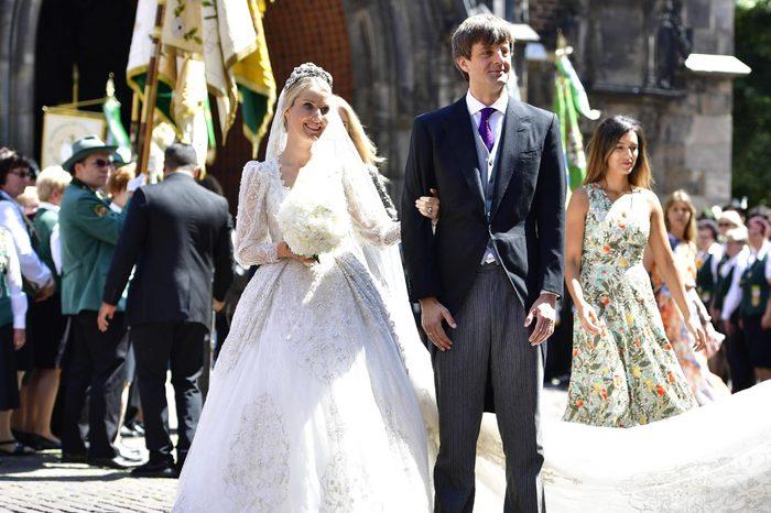 Ekaterina Masysheva and Prince Ernst August Jr.