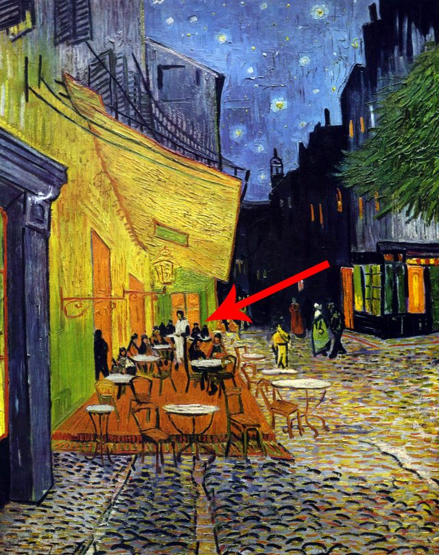 'Cafe Terrace at Night'