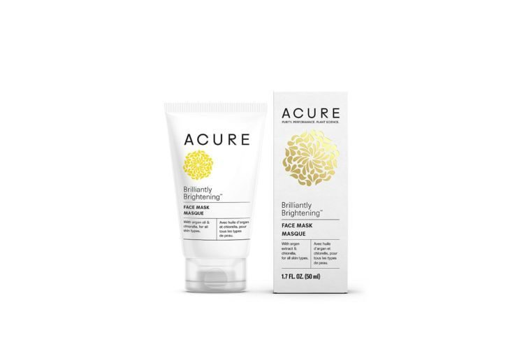 acure brightening face mask