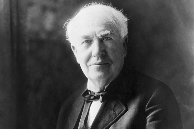 United States: c. 1922 Portrait of Thomas Edison, inventor.