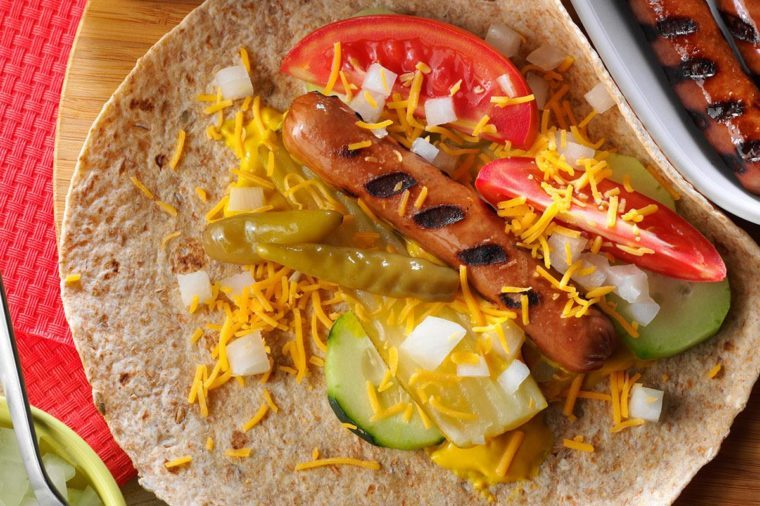 chicago dog wraps