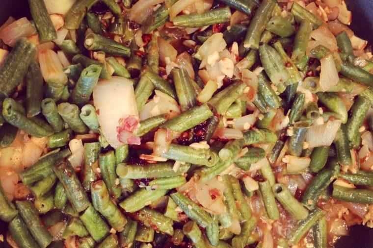 Vegetable Fried Rice with Almond Teriyaki Sauce